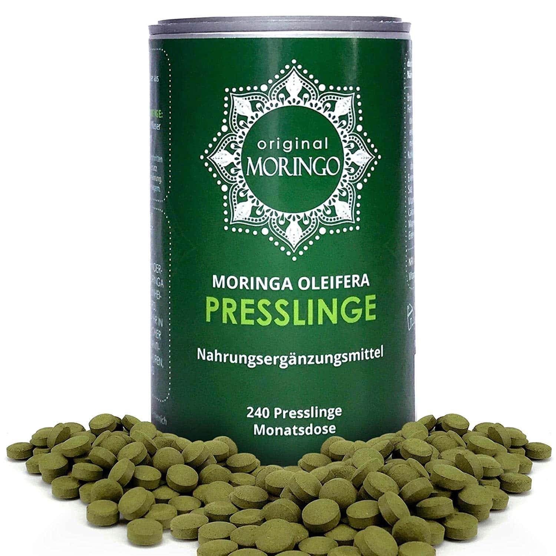 Premium Moringa Oleifera Presslinge