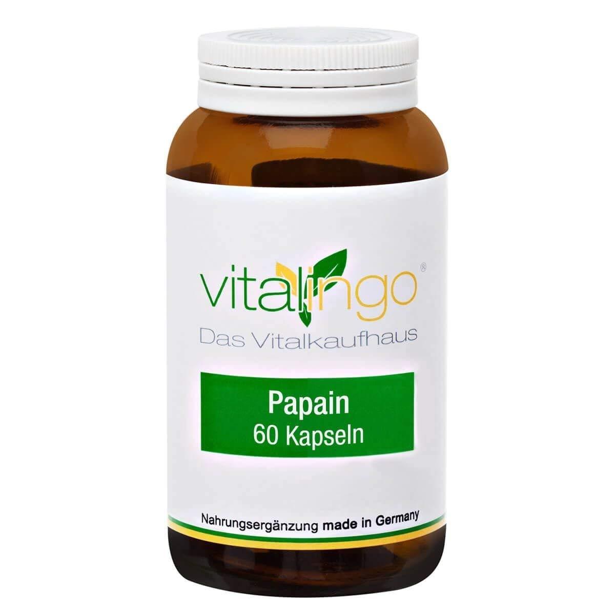 papain enzym kapseln