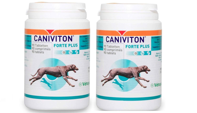 Vetoquinol CANIVITON FORTE Plus 2 x 90 Tabletten (180 Tabletten)